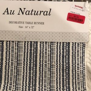 Au Natural Table Runner 14 X 72